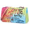 کیف دستی زنانه فشن با طرح برجسته گرافیتی